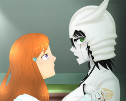 Stop looking at me like that, onna by Raybuggybug