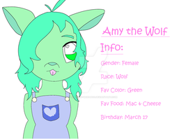 Amy The Wolf by amy-the-weeaboo