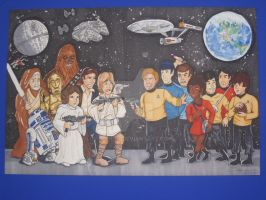 Star Wars vs. Star Trek by Hapo57