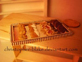 Miniature Cookie Tray by TheMiniatureBazaar