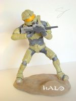 Master Chief by xcalixax