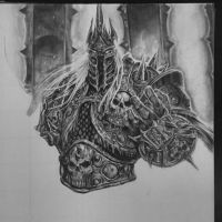 The Lich King WIP #6 by MassoArt