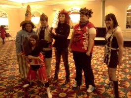 Cosplayers at Roundcon 14 by Kyuubichowderfan