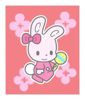 Pink Baby Bunny by IgyChyin