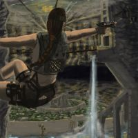 Tomb raider by PeterAJ