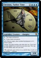 MtG: Chronos, Father Time by Overlord-J
