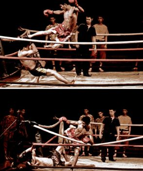 Thai Boxing by syuryow