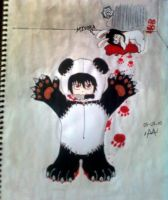 murderer panda BB by mortieru
