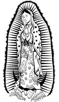 Our Lady of Guadalupe by dsouzamitchelle