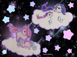 my little pony animated wp by magicmoons