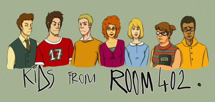 Kids from Room 402 by andrahilde