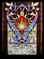 Stained Glass Window by chamberstock