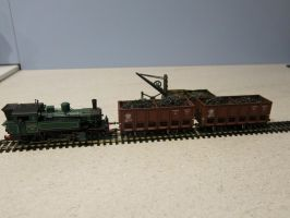 Shunting coal wagons by kanyiko