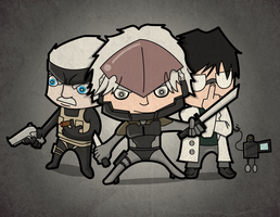 Chibi Metal Gear by ViciousJulious