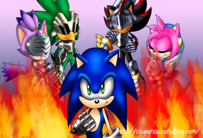 Sonic and the Black Knight by Shu-Silver