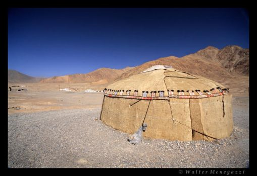 Yurt in Murghab by colpewole