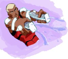 Aqualad in Action by Sarcasticyetsexy