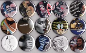 Buttons 4 by JimmyMcCullough