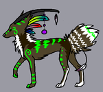 Nature Wolf Breedable by Artha-Demon