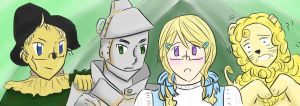 The Wonderful Wizard of Hetalia by girlyanimegal