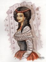 Lady from the XVIII century by LaTaupinette