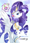 Princess Rarity by yuki-zakuro