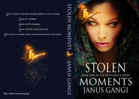 Book Cover Design-Stolen Moments by Janus Gangi by dreams2media