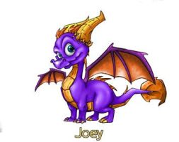 Joey the dragon by Joeytheleat
