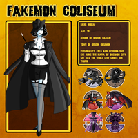 Fakemon Coliseum: Gym leader 7 - Noira by MTC-Studio