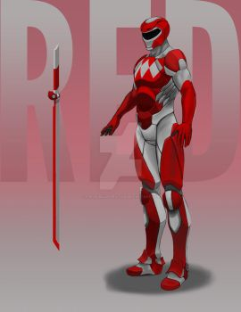 Red Ranger 2 by StevieJIllustration