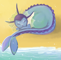 Vaporeon by BBH