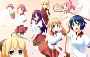 Katawa Shoujo girls by raemz-desu