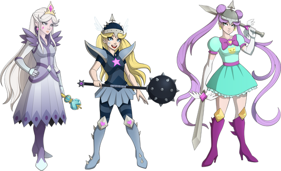 Mewni warriors by sparks220stars