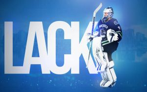 Eddie Lack Vancouver Canucks Wallpaper by motzaburger