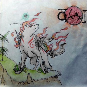Okami Fanart by CasualSketch