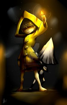 Little Nightmares (SPEEDPAINT IN DESCRIPTION) by Smudgeandfrank