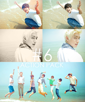Photoshop Action Pack #6 by iheart-sj