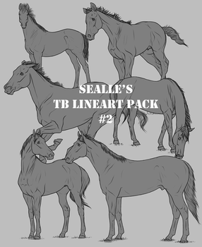 Sealle's TB Lineart Pack #2 by sealle