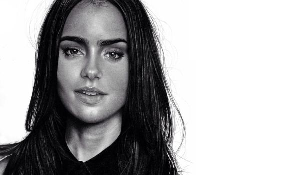 Lily Collins by beyondpat