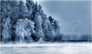 Mysterious winter by KariLiimatainen