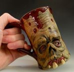 LAST ZOMBIE MUG - FOR SALE by thebigduluth