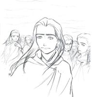 The host of Fingolfin is... by Celebel-Quettandil