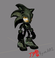 Sonic The Spartan by Kjrin132