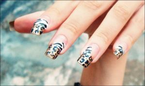 Nails Animal Art by liliandesenhos
