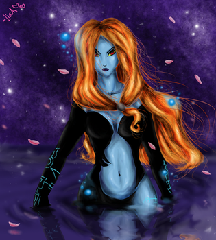 Wade in Water, Midna -spoiler- by twilinympho