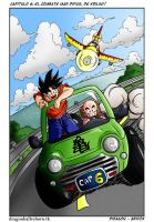 Goku and Krilin DBR by Diragon12