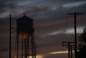 Water Tower by ArielNicole95