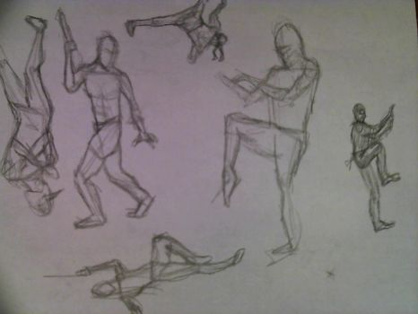 Figure Sketches 2 by G1artist