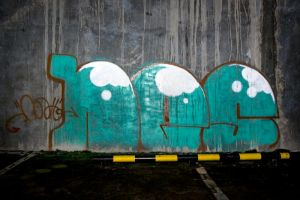 Green Throwie by ricz777