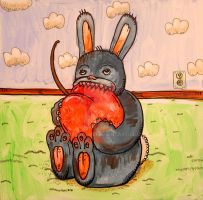 Black Cherry Bunny by MBLASTER